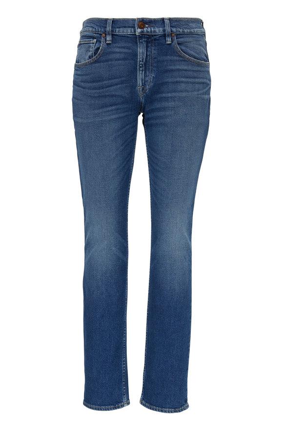Hudson Clothing Blake Titan Medium Wash Slim Straight Jean