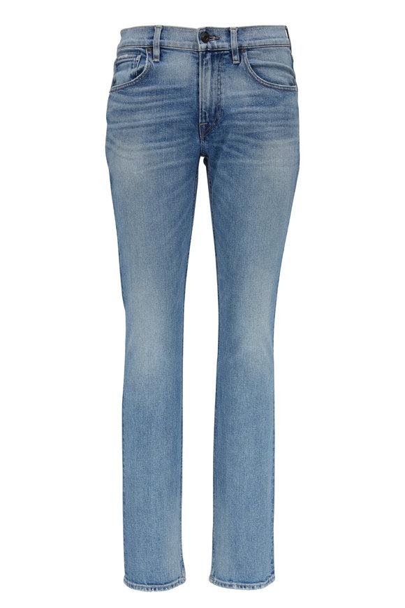 Hudson Clothing Blake Factory Light Wash Slim Straight Jean