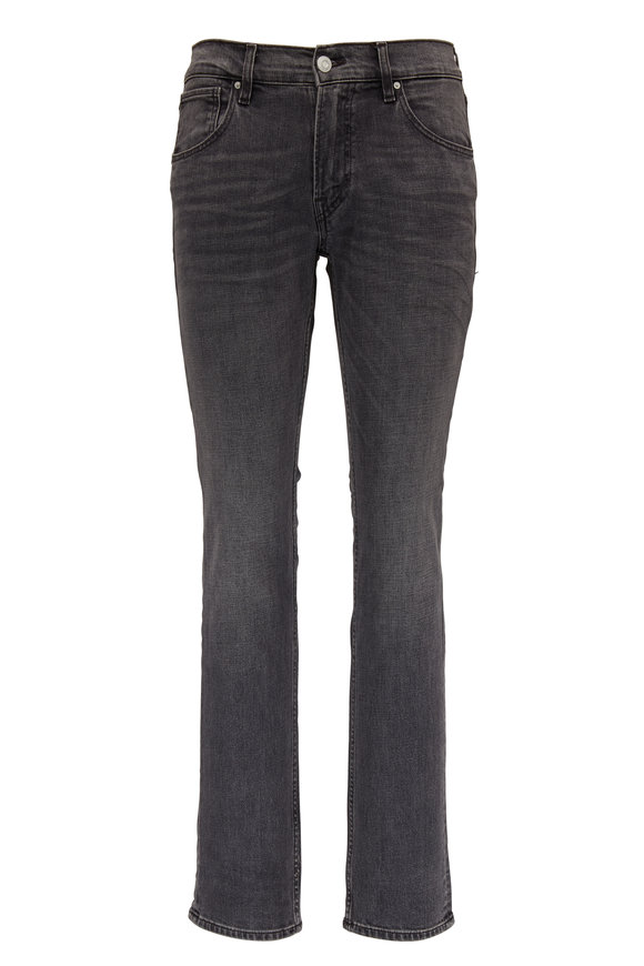 Hudson Clothing Blake Faded Black Slim Straight Jean