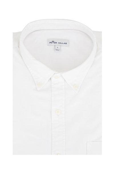 Peter Millar - White Vintage Washed Sport Shirt