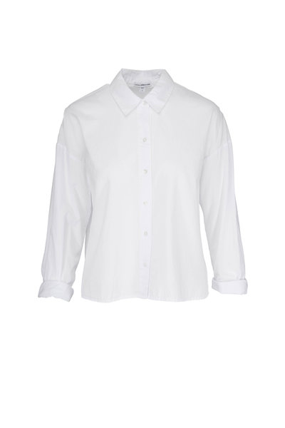 James Perse - White Cotton Lawn Shirt