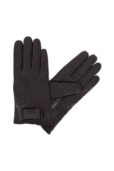 Adrienne - Dark Brown Leather Keyhole Wrist Glove