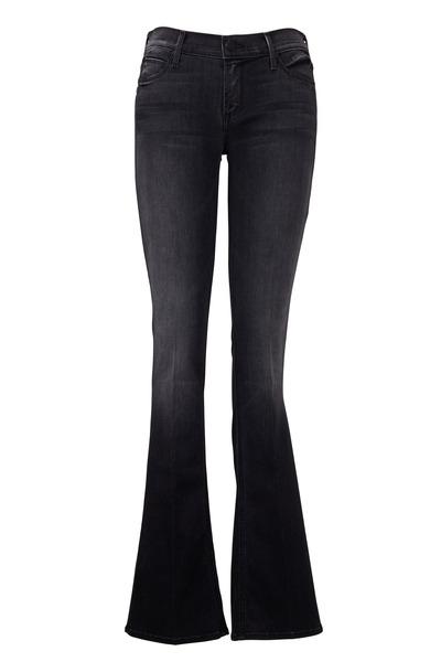 Mother Denim - Runaway Rebels & Lovers Black Skinny Flair Jeans