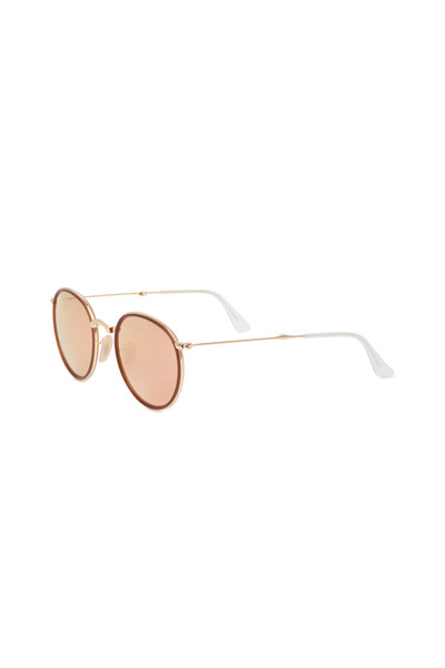 Ray Ban - RB3517 Copper & Gold Folding Sunglasses