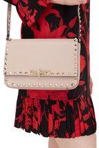 Valentino Garavani - Rockstud Poudre Leather Small Crossbody Bag