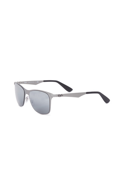 Ray Ban - Wayfarer Silver Square Sunglasses