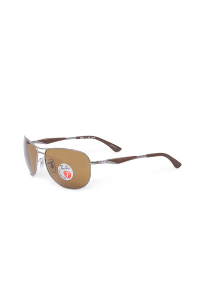 Ray Ban - RB 3519 Brown Polarized Sunglasses