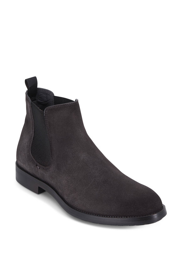 To Boot New York Arion Gray Suede Chelsea Boot