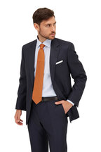 Eton - Light Blue Striped Contemporary Fit Dress Shirt