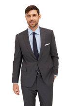 Samuelsohn - Solid Gray Ice Wool Suit