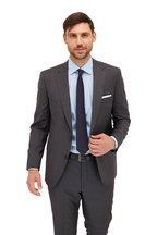 VKNagrani - Navy Blue Wool Necktie