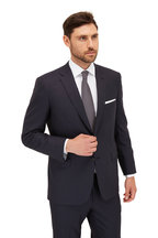 Brioni - Solid Navy Blue Wool Suit