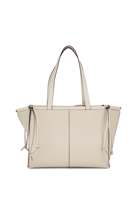 Loewe Oat Leather De Cushion Tote Bag