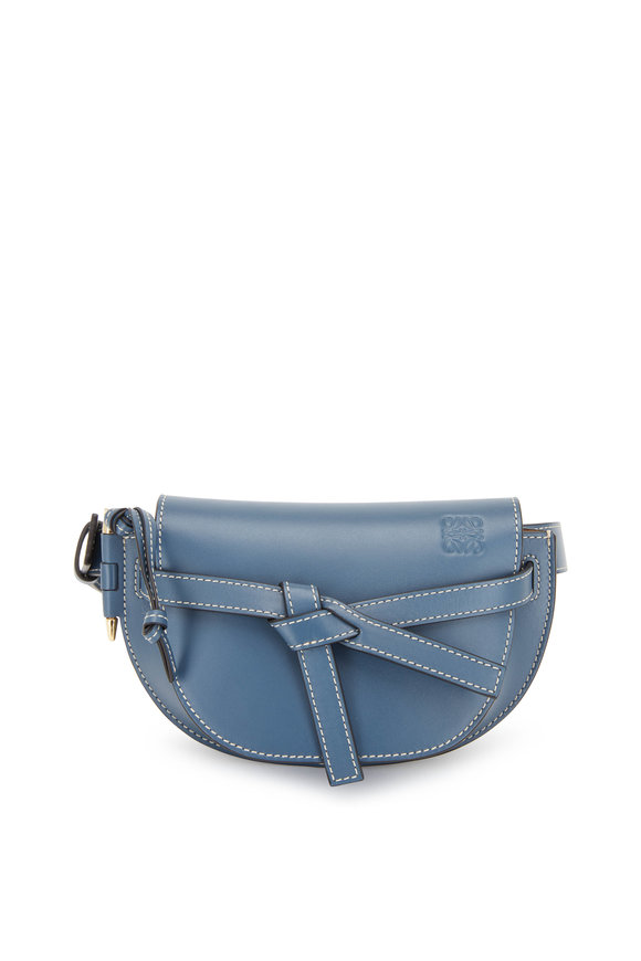 Loewe Goya Steel Blue Gate Small Belt Bag