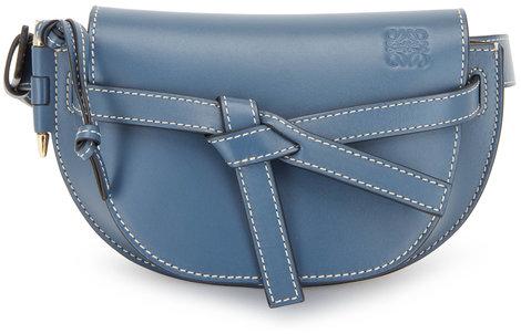 Loewe Goya Steel Blue Gate Small Belt Bag