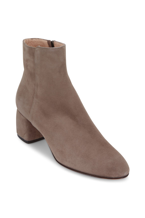 AGL Pebble Suede Block Heel Ankle Boot, 50mm