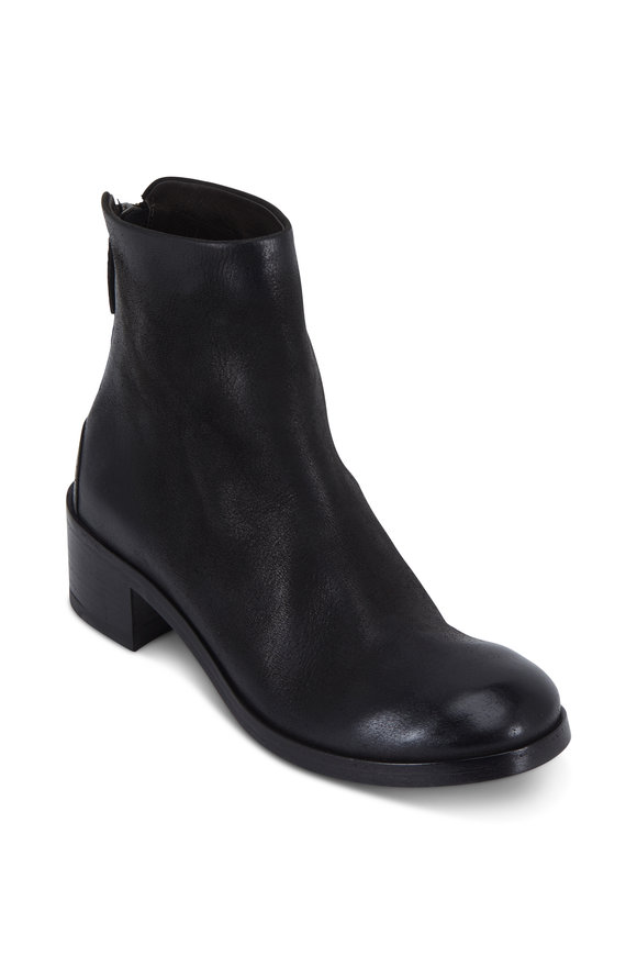 Marsell Listo Black Suede Ankle Boot, 50mm