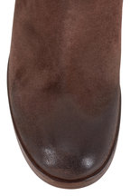 Marsell - Listo Chocolate Suede Ankle Boot, 50mm