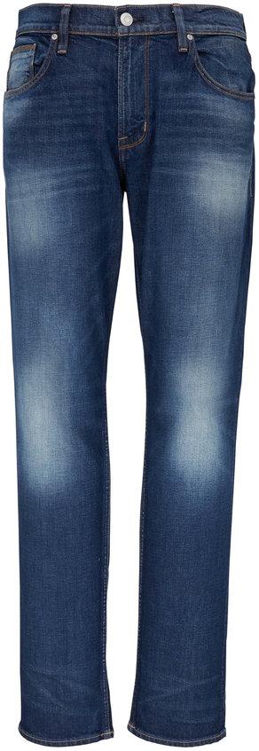 Hudson Clothing Blake Turnover Slim Straight Jean