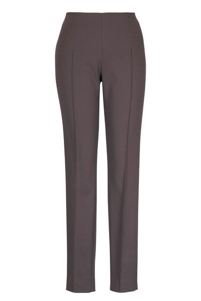 Akris - Melisa Mountain Ash Pin Tuck Trousers