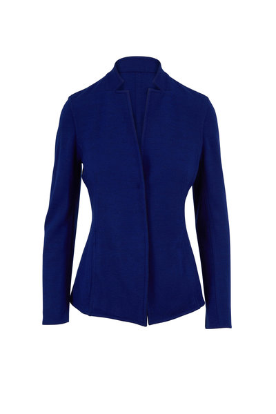 Akris - Danielle Enzian Stretch Cashmere Reversible Jacket