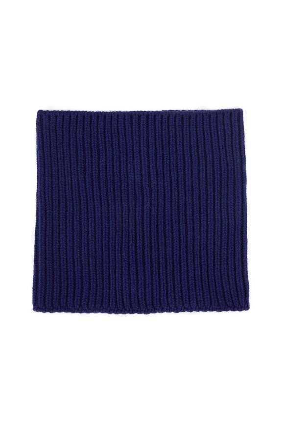 Dorothee Schumacher Matching Magic Ink Blue Ribbed Collar