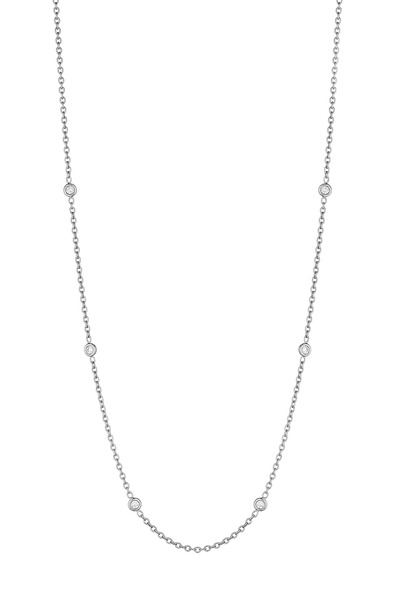 Penny Preville - White Gold Spectacle Set Diamond Chain
