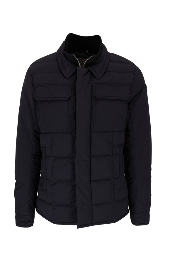 Moncler Biolay Black Quilted Down Jacket