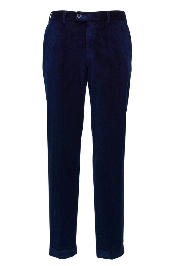Hiltl Navy Corduroy Pant