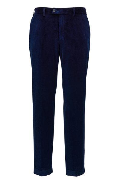 Hiltl - Navy Corduroy Pant