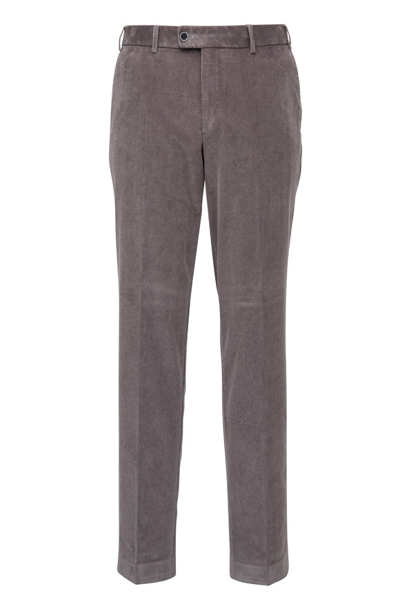 Hiltl Medium Gray Corduroy Pant