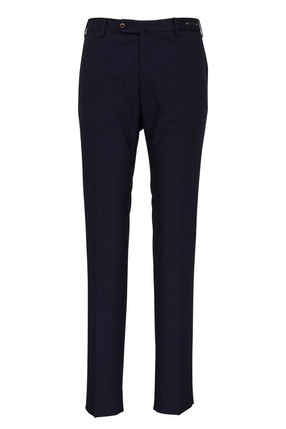 PT Pantaloni Torino Navy Four Season Super Slim Fit Pant