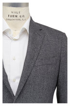 Atelier Munro - Light Gray & Black Herringbone Sportcoat