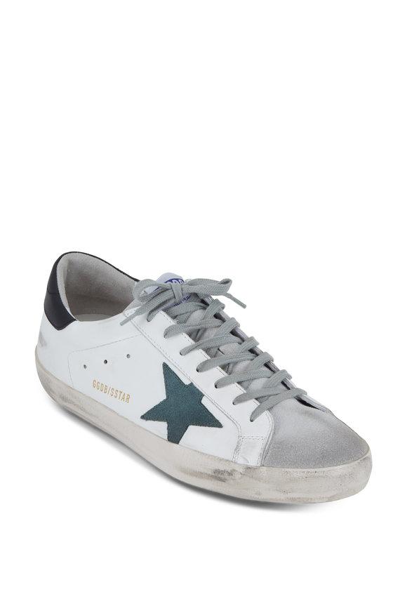 Golden Goose Men's Superstar White Leather Sneaker