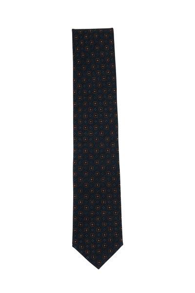 Brioni - Green Wool & Silk Necktie