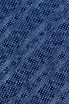 Ermenegildo Zegna - Blue Tonal Striped Silk Necktie