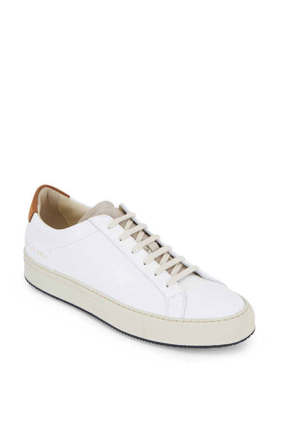 Common Projects Retro Low Special Edition White Sneaker