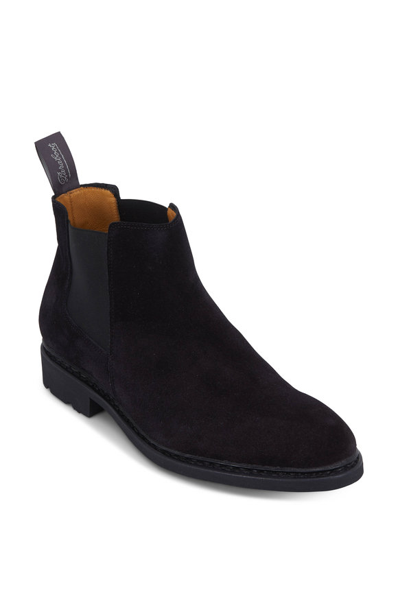 Paraboot Chamfort Galaxy Black Suede Boot