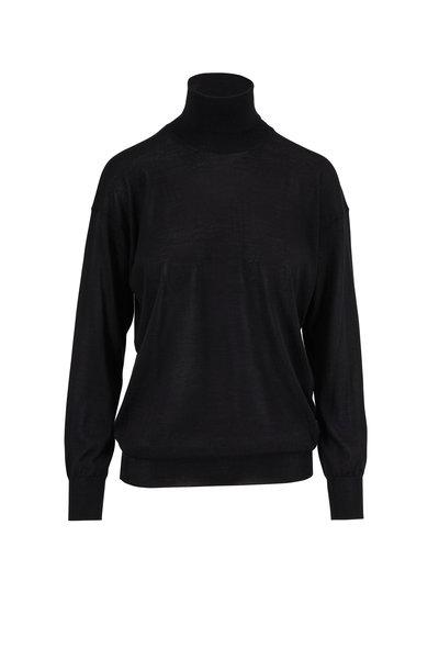 Tom Ford - Black Fine Cashmere & Silk Turtleneck