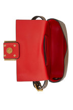 Fendi - Mudd Pebbled Leather Mini Belt Bag
