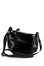Marsell - Fantasmino Black Patent Leather Crossbody