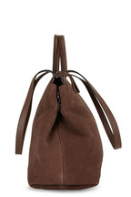 Marsell - Dritta Chocolate Suede Convertible Tote