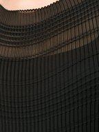The Row - Prado Black Vintage Crepe Long Tube Dress