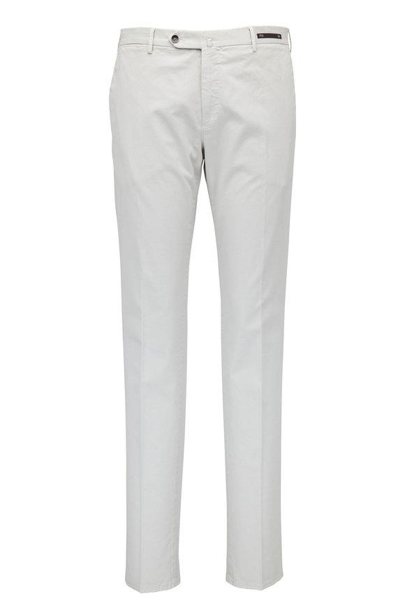PT Pantaloni Torino Stone Stretch Cotton Super Slim Flat Front Pant
