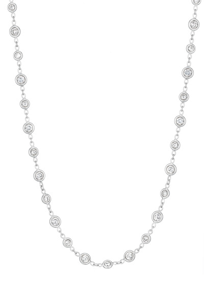 Penny Preville - White Gold Diamond Eyeglass Necklace