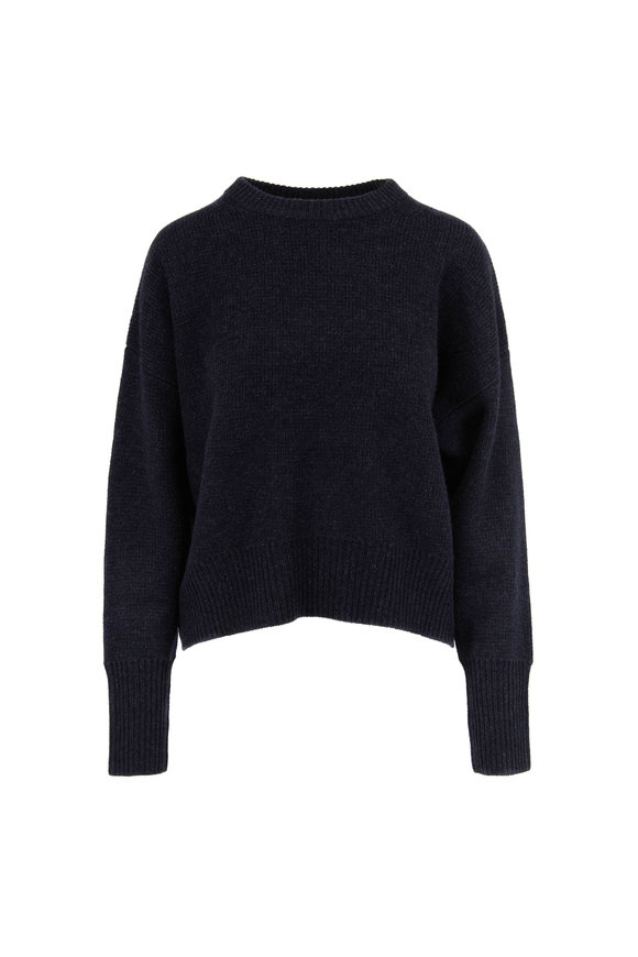 Le Kasha Evreux Milano Midnight Cashmere Sweater