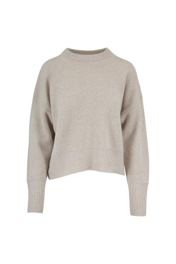 Le Kasha Evreux Milano Light Beige Cashmere Sweater