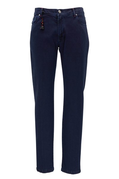 Marco Pescarolo - Navy Overdyed Japanese Denim Pant