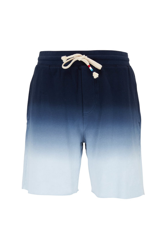 Sol Angeles Indigo Ombre Drawstring Sweat Shorts
