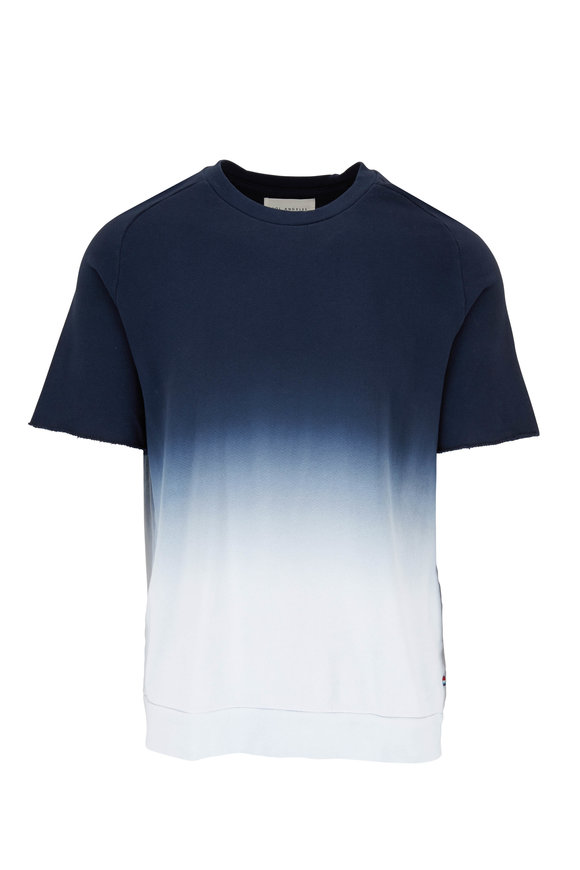 Sol Angeles Indigo Ombre Crewneck Short Sleeve Shirt